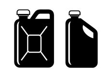 Gas can stock illustration