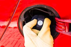 Free Gas Cap Stock Photography - 44801192