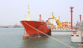 Gas carriers Royalty Free Stock Images