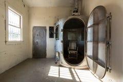 Gas chamber Stock Photo