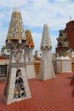 Gas chimneys Gaudi, Barcelona, Spain Stock Photography