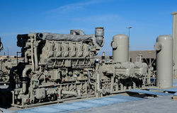Gas Compressor Royalty Free Stock Images