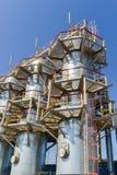 Gas compressor station Stock Image