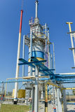 Gas compressor station Stock Photos