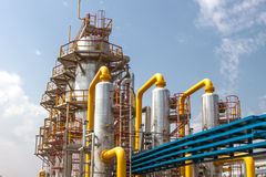 Gas compressor station Stock Photo