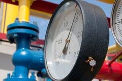 Gas compressor station Stock Photos