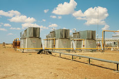 Gas compressors. Stock Image
