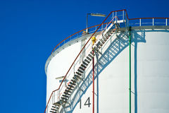Gas container Stock Image