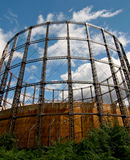 Gas container Royalty Free Stock Photo