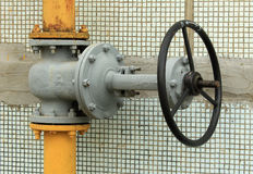 Gas control valve Royalty Free Stock Photography