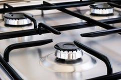 Gas cooker stock photos
