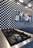 gas cooker Royalty Free Stock Photo