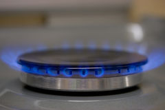 Gas cooker Stock Photo