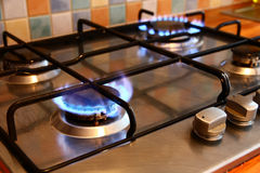 Gas Cooker Stock Image