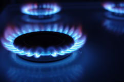 Gas cooker Royalty Free Stock Photos