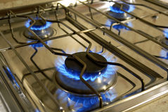 Gas Cooker Royalty Free Stock Image