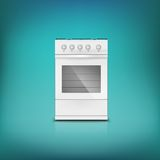Gas cooker. Stock Photography