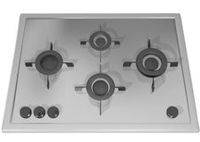 Gas-cooker isolated Stock Photography