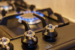 Gas Cooker Royalty Free Stock Images