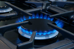 Gas cooker or stove Royalty Free Stock Photography