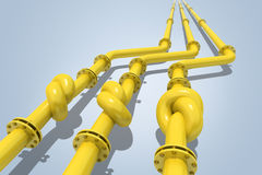 Gas crisis Stock Image