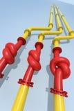 Gas crisis Royalty Free Stock Photo