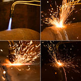 Gas cutting Stock Images