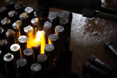 Gas cutting Royalty Free Stock Images