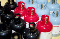 Gas cylinder Royalty Free Stock Photos