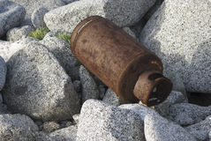 Gas cylinder Royalty Free Stock Images
