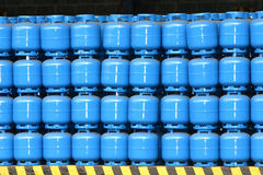 Gas cylinder Royalty Free Stock Image