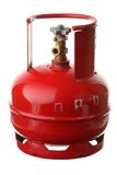 Gas cylinder. On a white background Royalty Free Stock Images