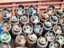 Gas cylinder Stock Image