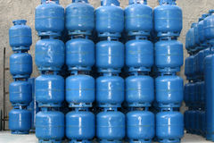 Gas cylinder Stock Images