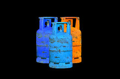 Gas cylinder Royalty Free Stock Photography