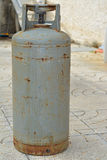 Gas cylinder. A photo of an  gas cylinder Royalty Free Stock Images
