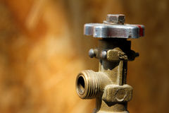 Gas cylinder valve Stock Photos
