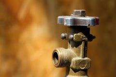 Gas cylinder valve Stock Photos
