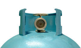 Gas Cylinder Valve Closeup Royalty Free Stock Image