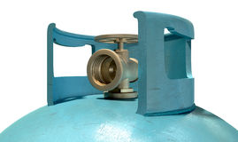 Gas Cylinder Valve Closeup Royalty Free Stock Photography