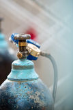 Gas cylinder valve Royalty Free Stock Photography