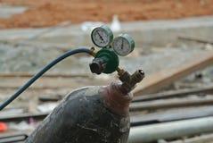 Gas cylinder for welder Stock Images