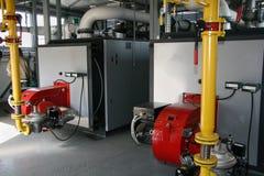 Gas Dampfkesselhaus Lizenzfreies Stockbild
