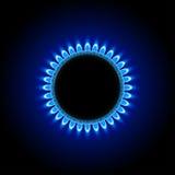 Gas on dark Royalty Free Stock Photos