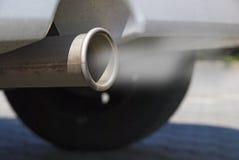 Gas de escape Foto de archivo libre de regalías