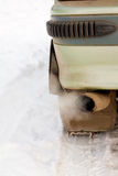 Gas de escape del coche Imagen de archivo libre de regalías