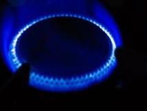 Gas de la estufa Imagenes de archivo