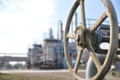 gas de sequía, industria, tecnología, gas, bomba, golpecito; ventel; válvula Foto de archivo libre de regalías