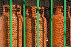 Gas del butano fotografie stock