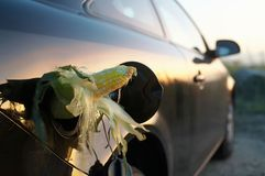 Gas del etanol Fotografía de archivo
